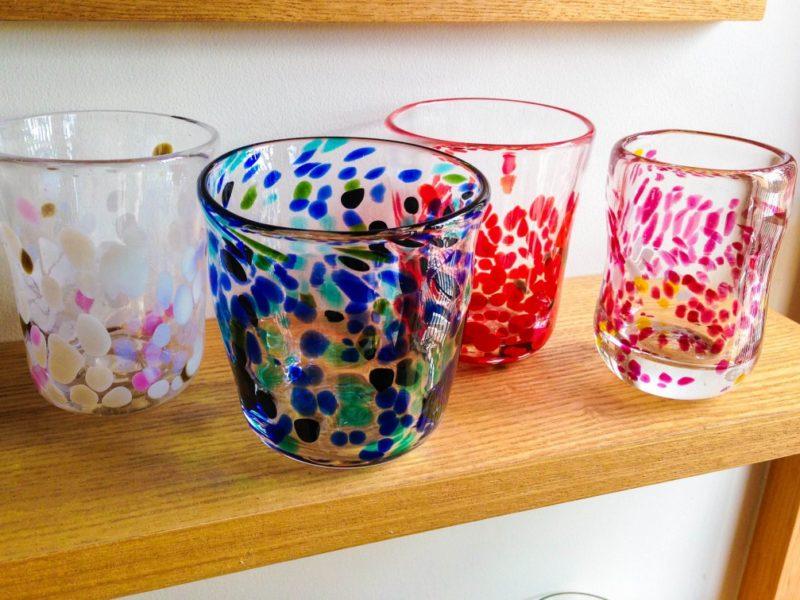 吹きガラス制作体験