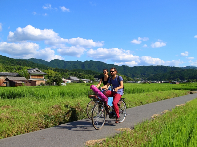 飛鳥サイクリング3時間ツアー